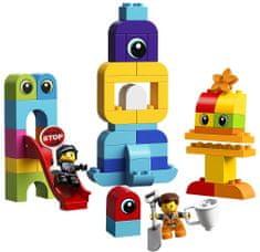 LEGO zestaw DUPLO 10895 Goście z planety DUPLO u Emmeta i Lucy