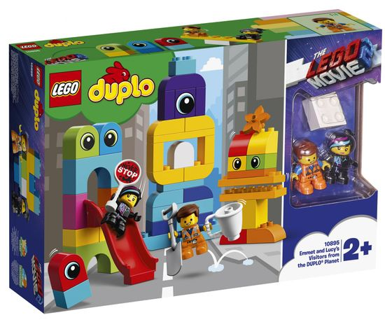 LEGO DUPLO 10895 Emmet, Lucy in obiskovalci s planeta DUPLO