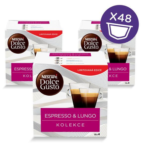 NESCAFÉ Dolce Gusto® kávové kapsle Black Mix Box 3balení