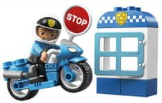 LEGO zestaw DUPLO 10900 Motocykl policyjny