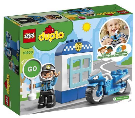 LEGO DUPLO 10900 Policijsko motorno kolo