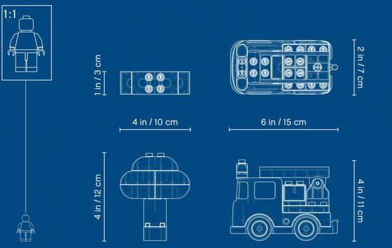 LEGO DUPLO 6250736 Tűzoltó autó