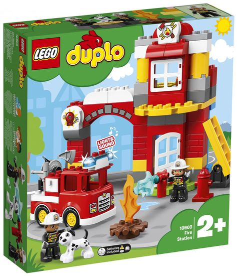 LEGO DUPLO 6250740 Tűzoltóállomás