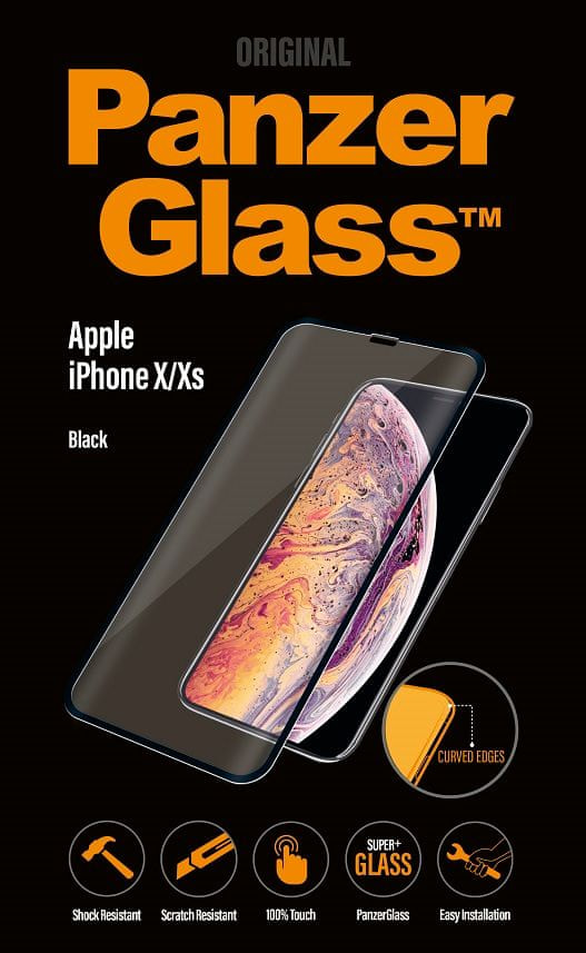 PanzerGlass Premium pro Apple iPhone X/Xs černé (2623)