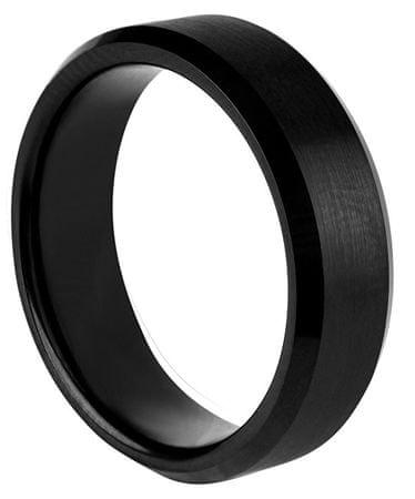 d24a71c98 Troli Čierny wolfrámový prsteň (Obvod 52 mm) | MALL.SK