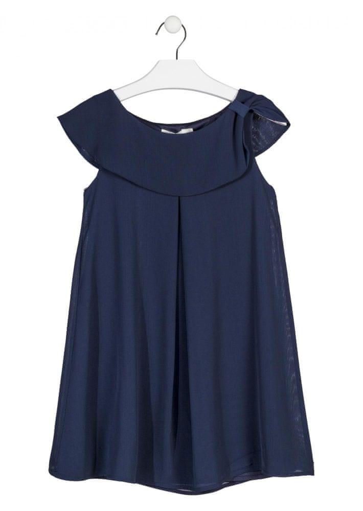 Losan dívčí šaty 128 modrá