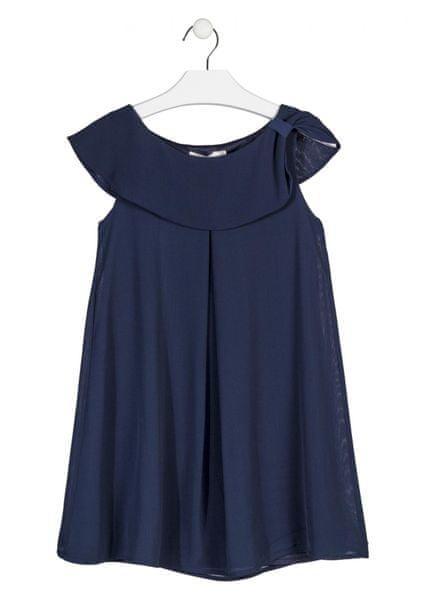 Losan dívčí šaty 140 modrá