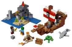 LEGO Minecraft 6251779 Avanture piratske ladje