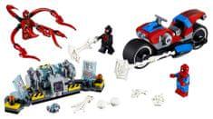 LEGO Super Heroes 76113 Spider-Man na reševalnem motornem kolesu