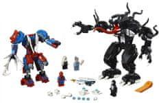 LEGO Super Heroes 76115 Spider Mech proti Venu