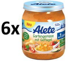 ALETE Zahrad. zelenina+drůbež.maso - 250g