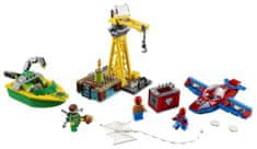 LEGO Super Heroes 76134 Spider-Man: Doc Ock in ropar denarja in diamantov