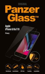 PanzerGlass Standard Privacy pro Apple iPhone 6/6s/7/8 čiré (P2003)