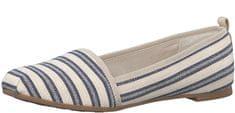 Tamaris Elegáns női cipő 1-1-24668-28 Navy Stripes