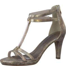 Tamaris Elegáns női cipő szalag 1-1-28006-38 Arany felépítése 4f8f835cb7
