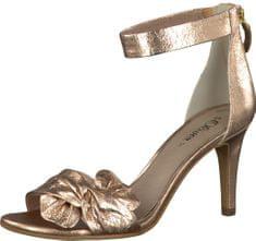 s.Oliver Buty Eleganckie damskie taśma tekstylna Metallic Rose 5-5-28350-38-519