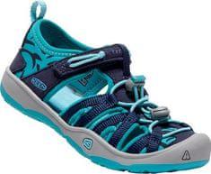 KEEN Sandały dziecięce Moxie Sandal Dress Blue s / Viridian KIDS