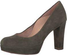 Tamaris Elegáns bíróság cipő 1-1-22413-29-744 Olive Suede