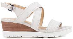 Geox Marykarmen Plus B Women Off White Sandals D828AB-06R43-C1002