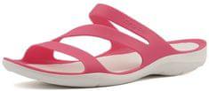 Crocs Kobiety Swiftwater Sandal Paradise Pink / White 203998-6NR