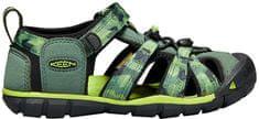 KEEN Sandały dziecięce Seacamp II CNX Duck Green / Green KIDS ERY