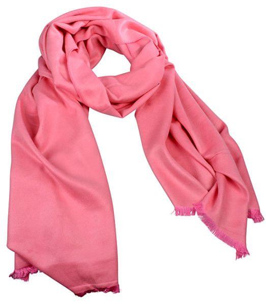 2ba156dda97 Art of Polo Dámský hedvábný šátek Islandia - růžový sz16308.2