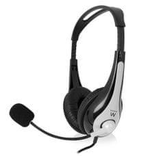Ewent slušalke, nadzor glasnosti, mikrofon