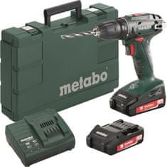 Metabo Wiertarka akumulatorowa BS 18 Top Seller 2× 1,3 Ah, kufer