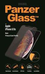 PanzerGlass Edge-to-Edge Privacy pro Apple iPhone X/Xs černé (P2632)