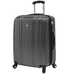 Mia Toro Cestovní kufr M1093/3-L stříbrná - použité