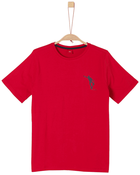 s.Oliver chlapecké tričko L červená