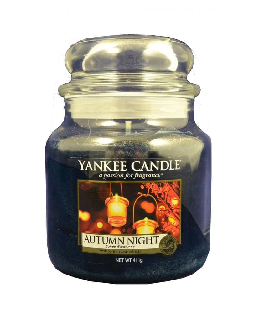 Yankee Candle Classic střední 411 g Podzimní noc
