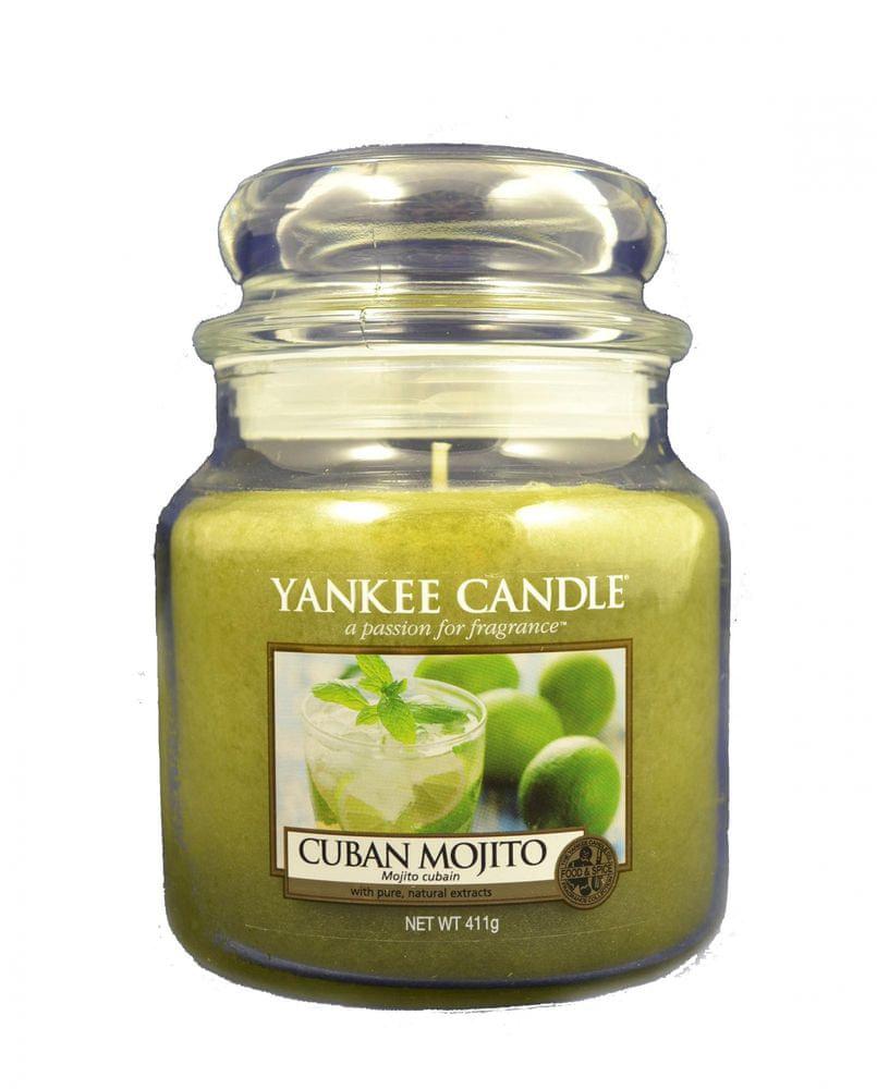 Yankee Candle Classic střední 411 g Kubánské mojito