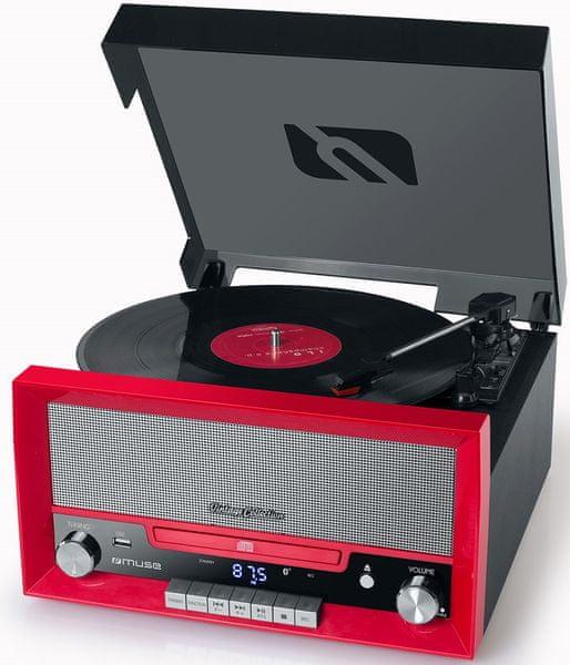 Muse MT-110, červená