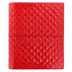 Filofax Diár Domino Luxe A5 červený