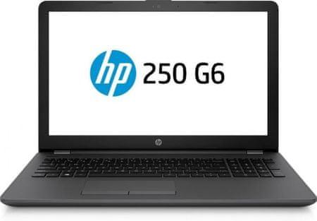 HP prenosnik 250 G6 i3-7020U/8GB/SSD256GB/15,6FHD/W10H (YBUN016)