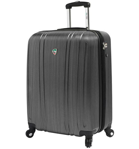 Mia Toro Cestovní kufr M1093/3-S stříbrná
