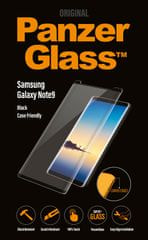PanzerGlass CF kaljeno zaščitno steklo za Samsung Galaxy Note 9, črno