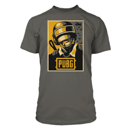 J!NX majica T-Shirt Pubg Hope Poster Premium Tee-X-large-charcoal