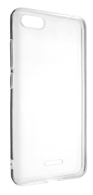Fixed Ultratenké TPU gelové pouzdro Skin pro Xiaomi Redmi 6A, 0,6 mm, čiré FIXTCS-328