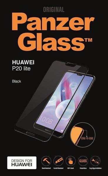 PanzerGlass Edge-to-Edge pro Huawei P20 Lite černé (5298)