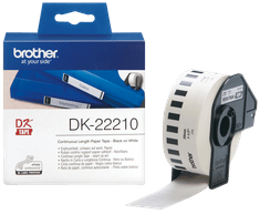 Brother Termalne nalepke Brother DK22210, 29 mm x 30,48 m