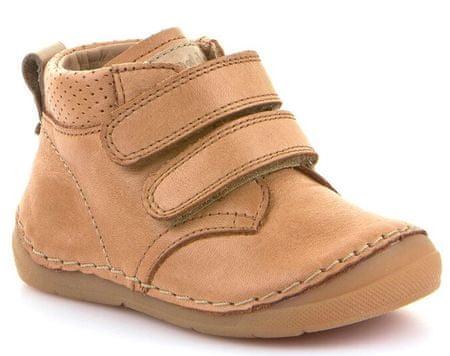 Froddo chlapecké kotníčkové boty 19 hnědá