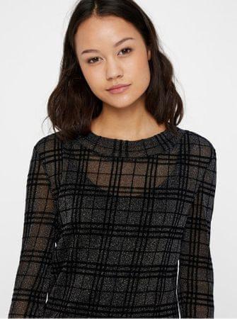 2c1441fd653 Noisy May černé kostkované šaty s dlouhým rukávem Kaya XS - Diskuze ...