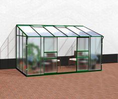 VITAVIA skleník VITAVIA IDA 7800 matné sklo 4 mm + PC 6 mm zelený