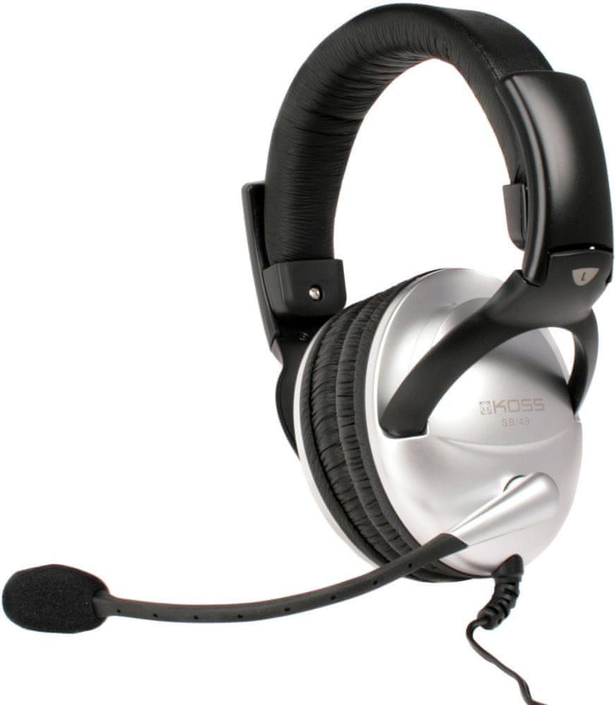 KOSS SB49 (SB49) sluchátka s mikrofonem