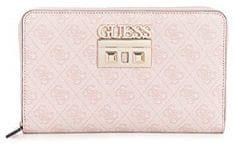 Guess Női pénztárca Logo Luxe Nagy Passport tok Pink