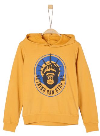 s.Oliver fiú pulóver S sárga