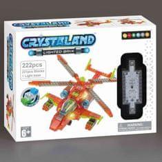 CrystaLand Crystal kocke helikopter