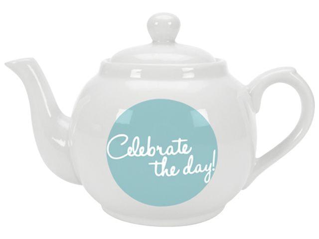 GUSTA Servírovací konvice na čaj Celebrate the day!